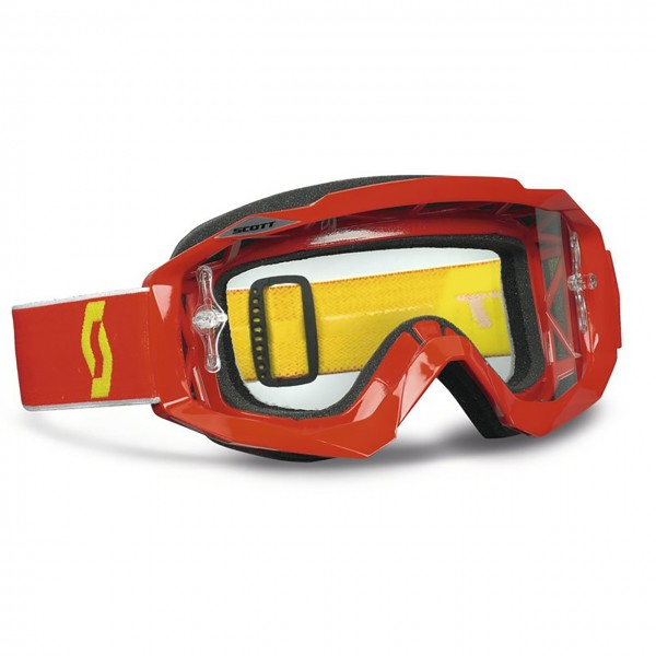 Scott Goggle Hustle MX, red clear works