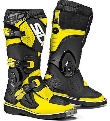 Sidi Flame Black-Yellow Fluo Größe:31-42