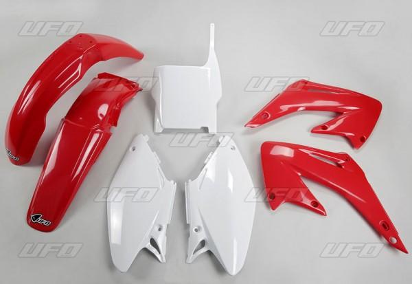 Ufo Replica Plastik Kit Honda CRF 450 R (17) schwarz,weiß,rot,original