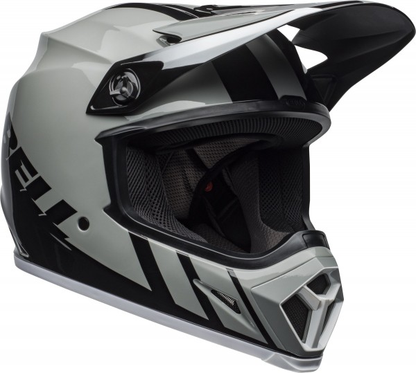BELL MX-9 Mips Helm Dash Gray/Black/White 2020