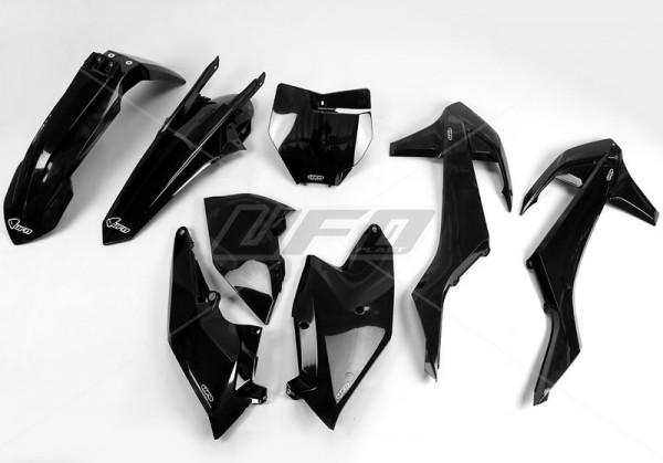 Ufo Replica Plastik Kit KTM SX-SXF (16-) - außer SX 250 `16 !! schwarz/weiss/orange/original