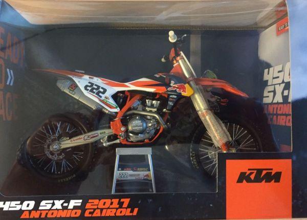 Miniatur Modell KTM Cairoli (222) 1:10
