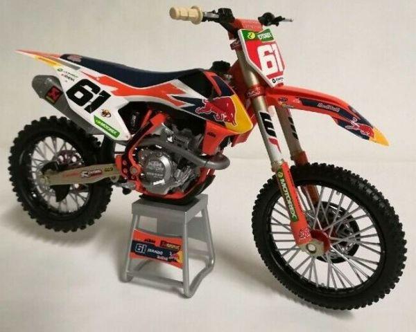 Miniatur Modell KTM Jorge Prado (61) 1:12