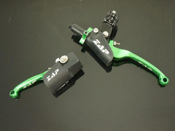 V.2x Klapphebelsatz KXF 250/450 13- grün
