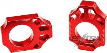 Scar Axle Blocks - Kawasaki / Suzuki - Farbe rot