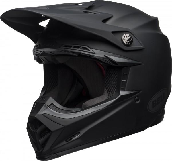 Bell Moto-9 Mips Intake Helmet Matte Black 2020