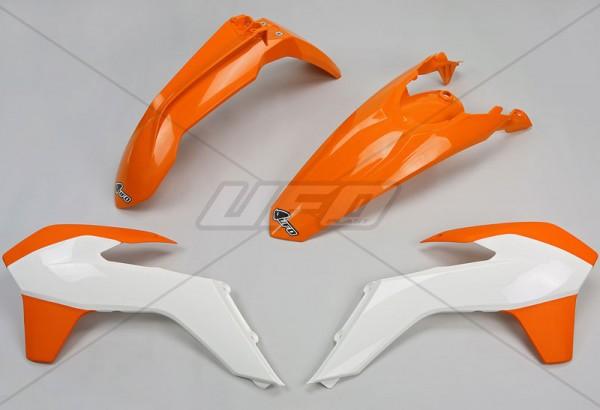 Ufo Replica Plastik Kit KTM EXC (14-16) schwarz/weiss/orange/original