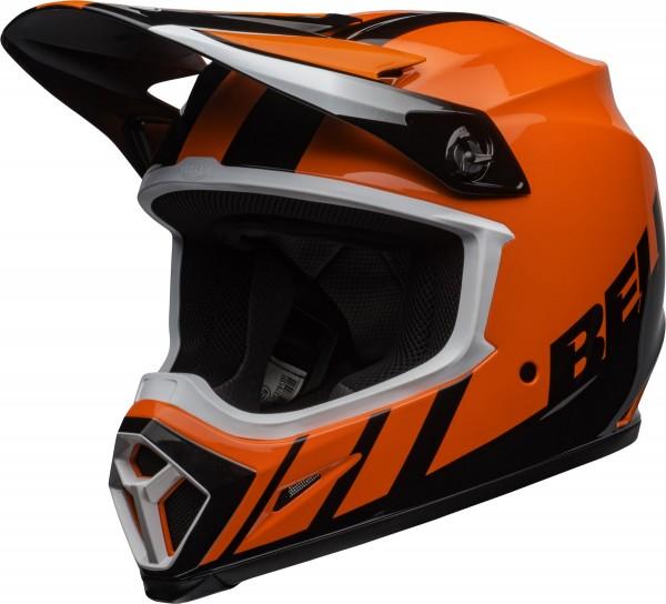 BELL MX-9 Mips Helm Dash Orange/Black 2020