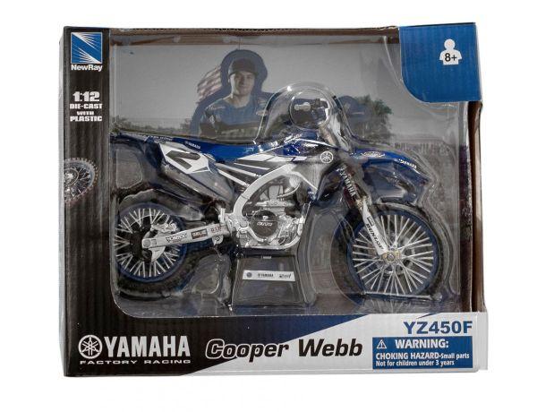 Miniatur Modell RHC Yamaha Racing Team C.Webb (2) 1:12