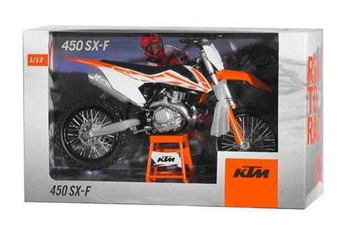 Miniatur Modell KTM SX-F 450/19 1:12