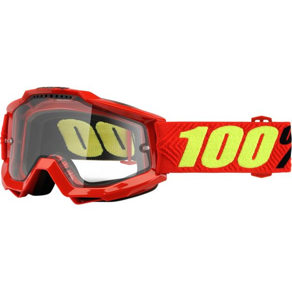 100% ACCURI SAARINEN ENDURO GOGGLE W/ CLEAR LENS