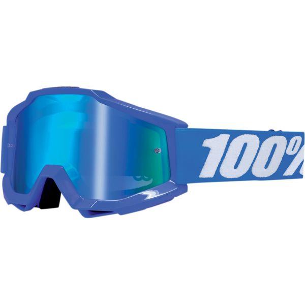 100% ACCURI REFLEX BLUE OFFROAD GOGGLE