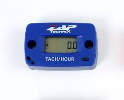 ZAP Drehzahlmesser und Stundenzähler, blau