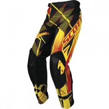 Pants Scott 350 KIDS Hyper black/red Größe: 24