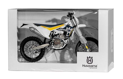 Miniatur Modell Husqvarna FE-350/17 1:12
