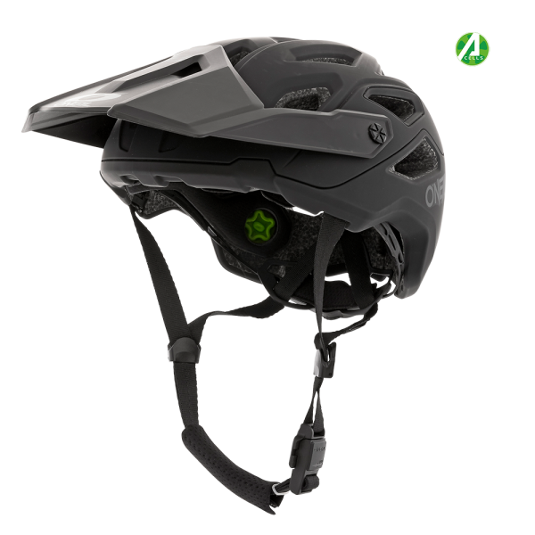 O`NEAL PIKE 2.0 IPX HELMET SOLID BLACK/GRAY