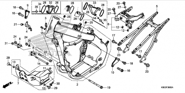 F-39 Rahmenkoerper