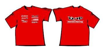 KMP T-Shirts rot Größe: S - XXL