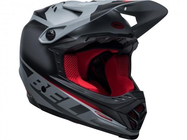 BELL Moto-9 Youth Mips Helm Glory Black/Gray/Crimson