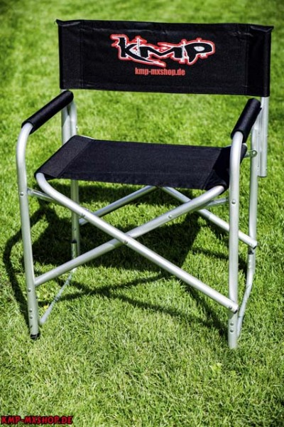 KMP Chair ( Regiestuhl aus Aluminium)