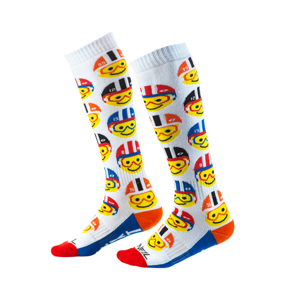 PRO MX SOCK YOUTH EMOJI RACER MULTI 2020