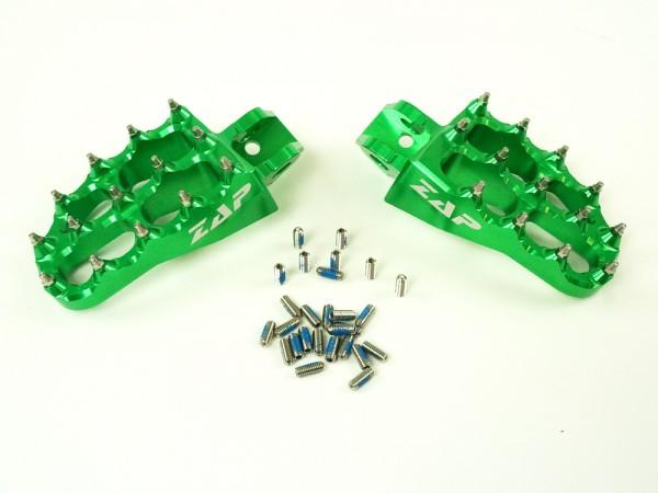 ZAP E-Peg Fußraste KX 85 grün