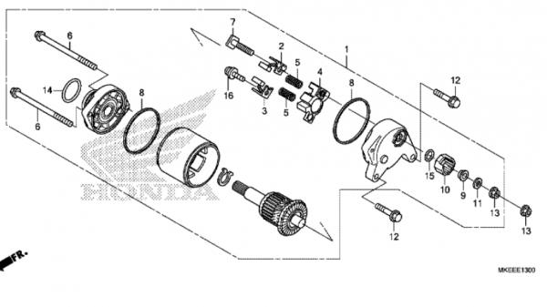 E-13 Anlasser