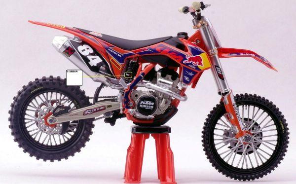 Miniatur Modell KTM Jeffrey Herlings (84) 1:12