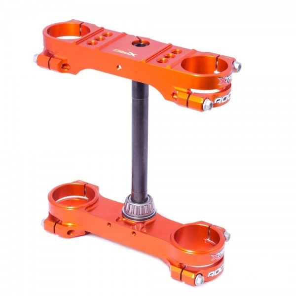Xtrig ROCS tech Gabelbrücke KTM SX/SXF 13-19 EXC 17- 19 offset 22 - Orange