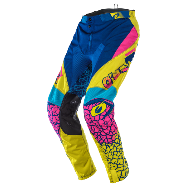 MAYHEM PANTS CRACKLE 91 YELLOW/WHITE/BLUE 2020
