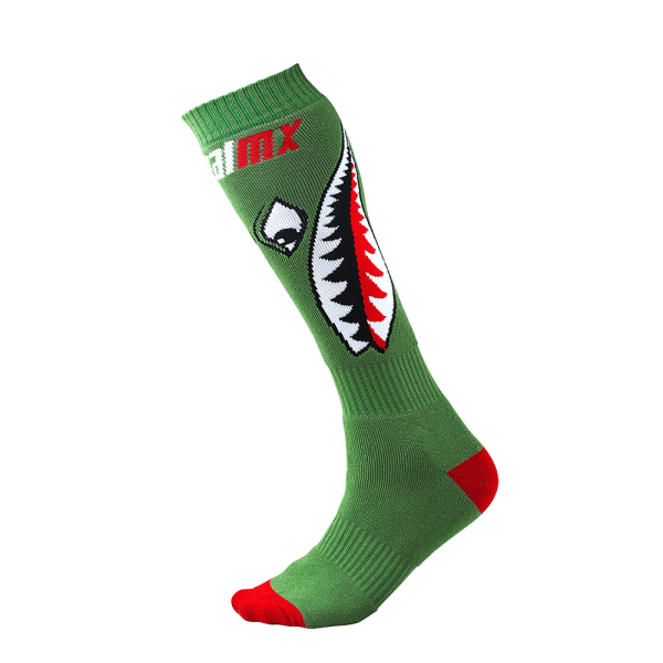 Pro MX Sock Bomber green (One Size) 2020