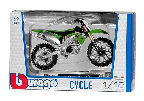 Miniatur Modell Kawasaki Cross 1:18