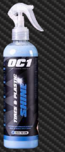 OC1 TIRES&PLASTIC SHINE 450ML