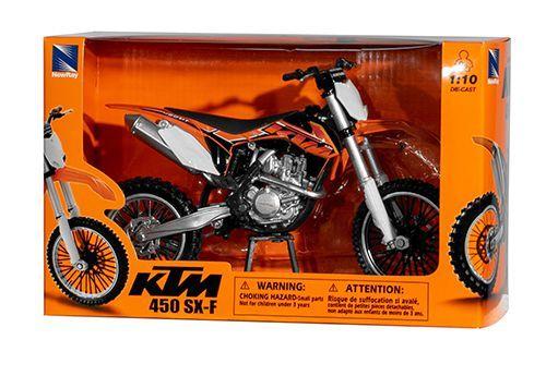 Miniatur Modell KTM SX-F 450 2014 1:10