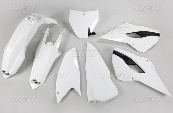 Ufo Replica Plastik Kit Husqv TC 250 (16) schwarz/weiss/original