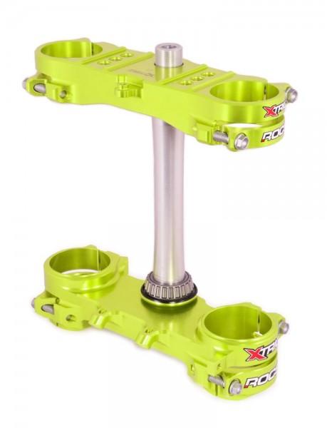 Xtrig ROCS tech Gabelbrücke Suzuki RMZ 450 13-17 / 250 16-18 offset 21,5 - neon-gelb