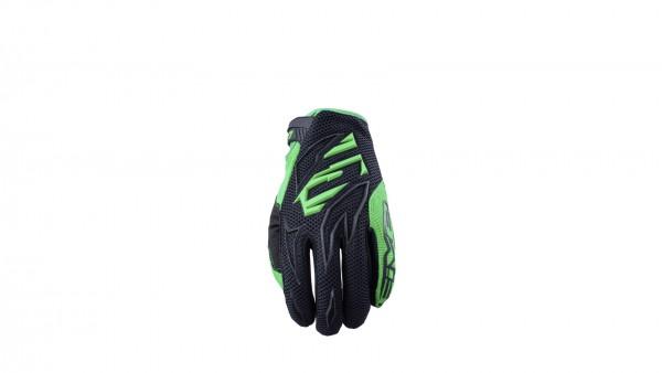 Five MXF 3 black/fluo green Größe: XS - XXXL