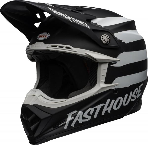 Bell Moto-9 Mips Fasthouse Signia Helmet Matte Black/Chrome 2020