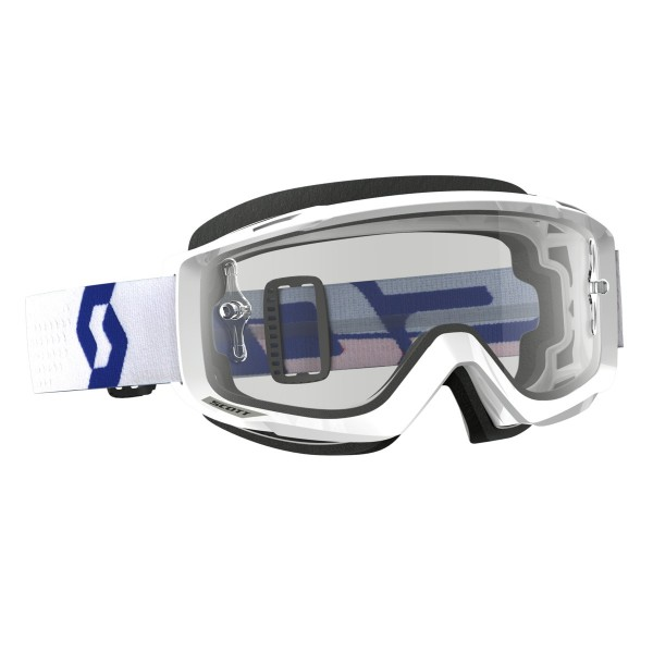 SCOTT Split OTG Goggle white/red-clear works
