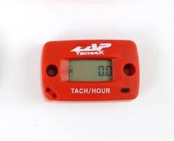 ZAP Drehzahlmesser und Stundenzähler, rot