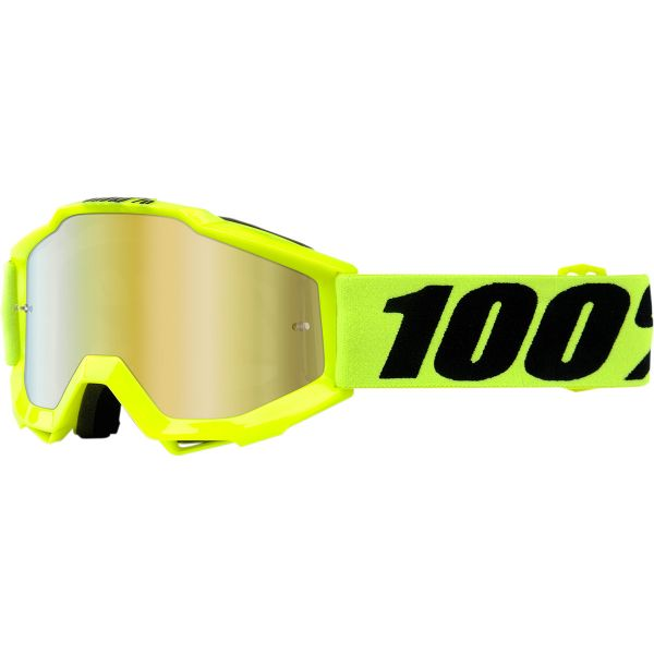 100% ACCURI JR FLUO YELLOW OFFROAD GOGGLE