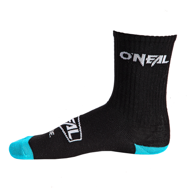 CREW SOCK ICON BLACK (39-42) 2020