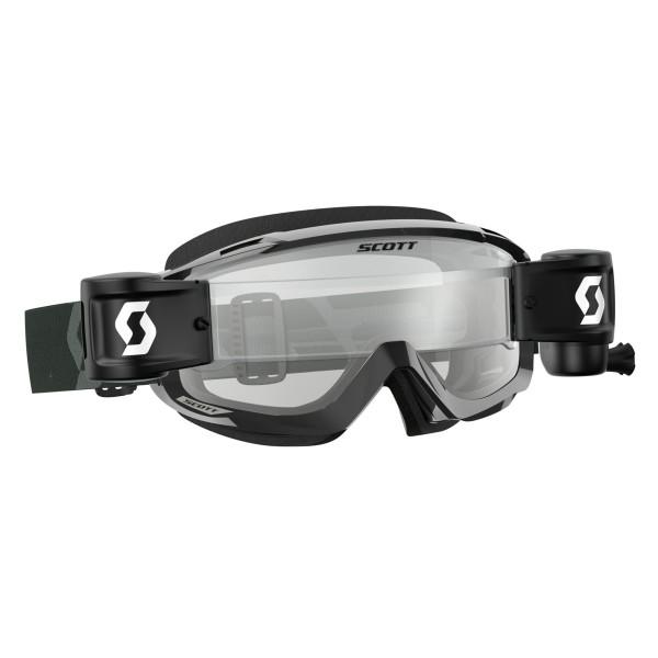 SCOTT Split OTG WFS Goggle black/white -clear works