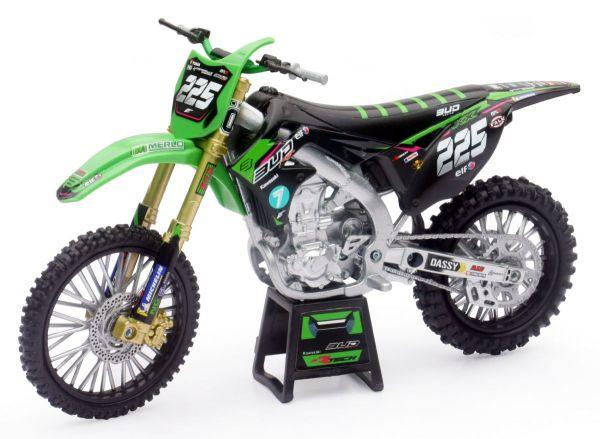 Miniatur Modell Kawasaki Brian Moreau (225) 1:12