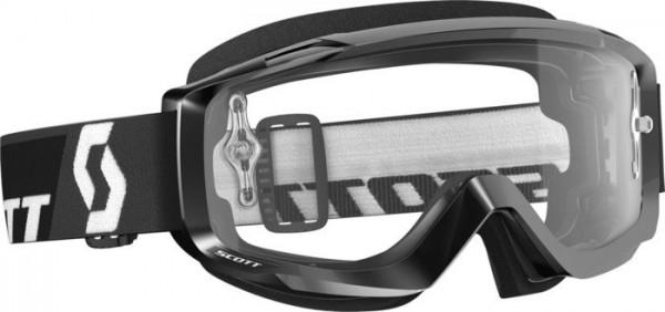 Scott Split OTG Goggle black/clear works