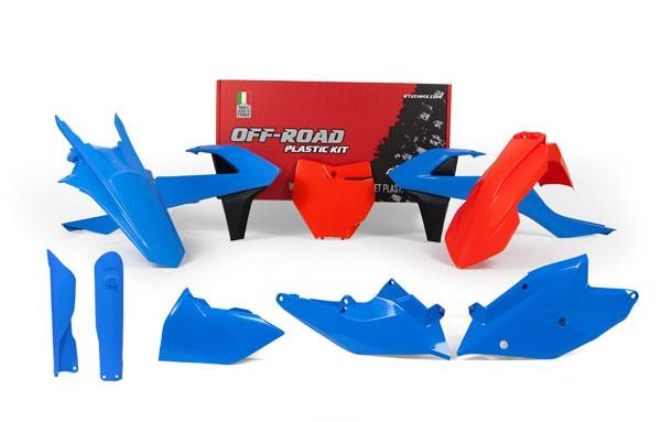 Rtech Plastikkit KTM SX/SXF 16-18 7-teilig