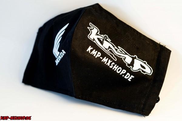 KMP Mund-Nasen-Bedeckung schwarz