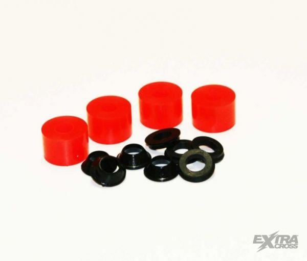 Elastomere-Kit rot hart