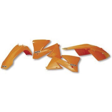 Ufo Replica Plastik Kit KTM SX 85 (13-17) schwarz/weiss/orange/original