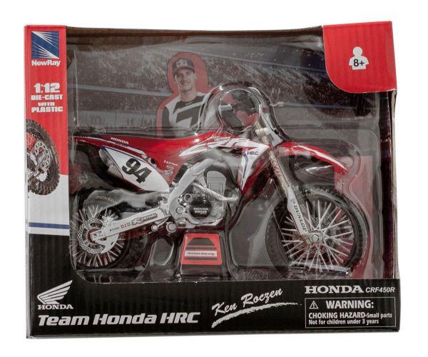 Miniatur Modell HRC Honda Factory Ken Roczen (94) 1:12